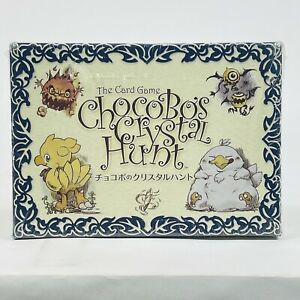 The Card Game Chocobo's Crystal Hunt Sealed