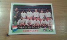 N°76 TEAM EQUIPE ELFTAL # NEDERLAND PANINI EURO 96 ORIGINAL 1996