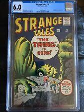 STRANGE TALES #79 CGC FN 6.0; OW-W; Kirby/Ditko cvr/art; Dr. Strange prototype!
