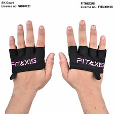 Guantes de entrenamiento fitaxis sin dedos Levantamiento De Pesas Guantes Para Ciclismo Entrenamiento Pinza