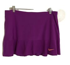 Nike Dri Fit Tennis Golf Athletic Skort Size Large Mint Condition