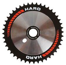 Retro Haro Team Disc Sprocket Chainring 44T Old School BMX Black Red