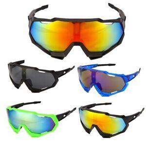 Cycling Glasses Mountain Bicycle UV400 Bike Sunglasses MTB Eyewear Goggles NEW