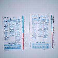 Strat-O-Matic Baseball 1998 Colorado Rockies Team Cards