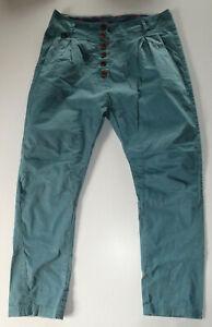 Maloja Gr. M Modell: Yanam - Damen Hose / Freizeithose - cobalt blau -
