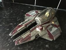 Star Wars Starfighter Ship red Hasbro 2004