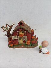"Hawthorne Village THE GREAT PUMPKIN BARN"" Halloween Figurine"