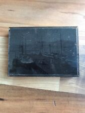 Great Vintage Copper Printing Block Showing A White star Farewell Voyage
