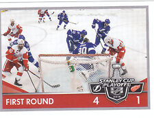 16/17 PANINI NHL STICKER STANLEY CUP PLAYOFFS #484 LIGHTNING RED WINGS *24674