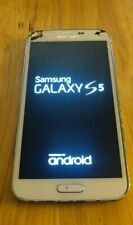 Samsung Galaxy S5  - 16GB - White (Sprint) Read Description