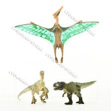 Jurassic Realistic Pterosaurs T-Rex Velociraptor Dinosaur Figure Toy Gift Set