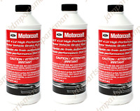 Motorcraft - High Performance DOT 4LV Brake Fluid 1Pint PM20 Pack of 3 for Ford