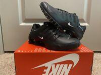 NEW Nike Shox NZ EU Triple Black 501524-091 Running Shoes Men's Size 8.5