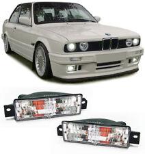 2 CLIGNOTANT CHROME POUR BMW SERIE 3 E30 DE 1984 A 1991 + 2 AMPOULES