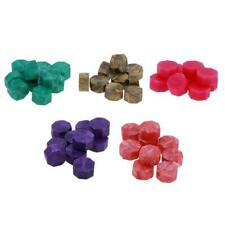 100pcs Octagon Wax Paint Sealing Granule Vintage Wedding Pill Stamps Wax
