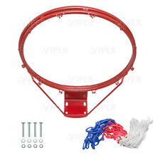 Basketball Hoop Net DOUBLE Ring Wall Mounted Outdoor Hanging Basket BALL 18''