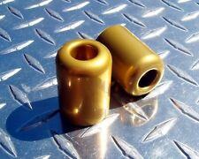 Kawasaki GOLD Bar Ends - 250R 300 ZX6 ZX7 ZX9 ZX12 ZX14 Z1000 Z750 ZZR ZX1000
