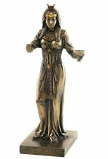 Egyptian Queen with Cup Nubile Princess of Libation Statue with Crown #WU75691B4