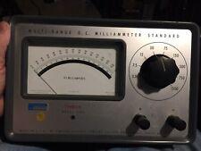 Vintage Nasa Simpson Model 1702 Multi Range Dc Millammeter
