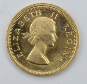 1953 South Africa Gold 1 Pound *4072