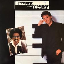"PAUL MCCARTNEY WITH STEVIE WONDER - Ebony And Ivory (7"") (G+/VG-)"