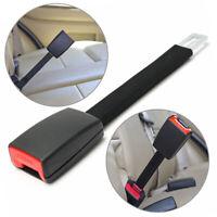 25cm Universal Car SUV Seat Belts Safety Belt Extender Extension Buckle 21mm Tab