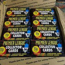 8 BOX LOT 1996 Merlin's Soccer Premier League Trading Card Unopened Pack Box