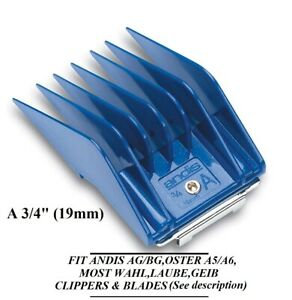 """ANDIS GUIDE ATTACHMENT UNIVERSAL CLIPPER BLADE A COMB 3/4"""" 19mm DOG Pet GROOMING"""