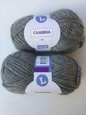 Lincraft Cambria Grey Knitting Wool Yarn 200g Alpaca