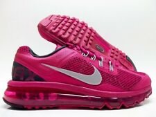 NIKE AIR MAX+ 2013 FUCHSIA/REFLECT SILVER-ANTHRACITE SIZE WOMEN'S 8 [555363-602]