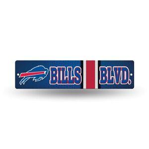 "Buffalo Bills Football 16"" Street Sign Fan Wall Decor"
