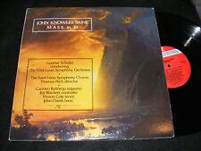 JOHN KNOWLES PAINE Mass In D GUNTHER SCHULLER St. Louis Symphony 1978 2 LP Gtfld