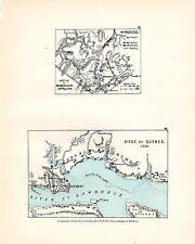 BATTLE PLAN RAMILLIES MAY 1706 & SIEGE OF QUEBEC 1759