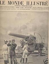 MONDE ILLUSTRE 1899 N 2225 LE PROCES DE LA HAUTE COUR