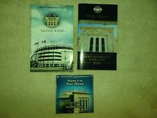 New York Yankees 2008/2009 DVD New Home Fan Guide Ticket Information LOT