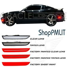 ORACLE LED SideMarkers for 10-14 Ford Mustang - Clear & Tinted - #9700