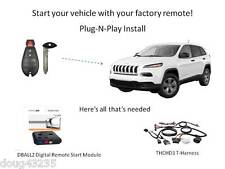 Plug-N-Play Remote Starter for 2014-2017 Jeep Cherokee w/Fobik Key -DB3 - THCHD3