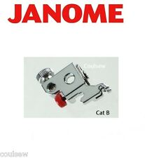 JANOME GENUINE Foot Holder Shank for Clip on feet Cat B MC5900, DC3050, 2522 etc