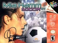 Mia Hamm Soccer 64 N64 New Nintendo 64