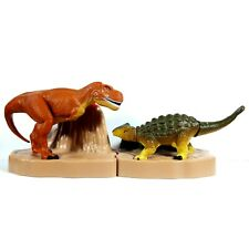 Tomy & McDonald's Tyrannosaurus Dinosuars Complete Set Animal Happy Meal Toys