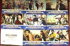 Ponte di comando H.M.S. Defiant Fotobusta Poster Affiche Alec Guinness Bogarde