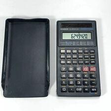 Casio Fx-260 Solar Powered All-Purpose Scientific Calculator w/ Case - Working
