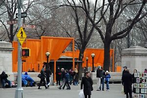 New York Central Park West Christo's Gate original signed Giclee photo by Arnold