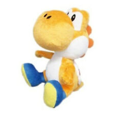 "NEW 6"" Orange Yoshi (1390) Nintendo USA Super Mario Little Buddy Stuffed Plush"