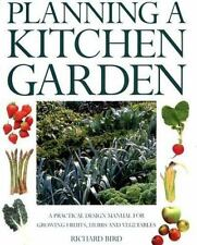 Planning a Kitchen Garden: A Practical Design manual for Growing Fruit-ExLibrary