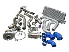 T76 Turbo Manifold Header Downpipe Intercooler Piping Kit, 98-02 Camaro LS1-BLU
