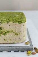 Halva pistachio natural delight from jerusalem vacuum packed 250g