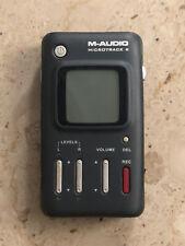 M-AUDIO Micro Track II Professional 2 Channel Mobile Digital Recorder