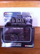2004 Corgi Collection D Day 60th Anniversary 62nd Medical Battalion Diecast Jeep