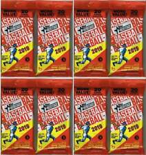 (8) 2019 Topps HERITAGE Baseball MLB Trading Cards 20c Retail FAT PACK EA LOT